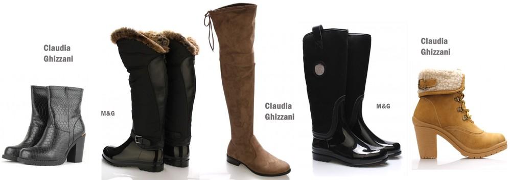 533e8377a95 Trendy kozačky nad kolena nebo šněrovací teploučké boty farmářky s  kožešinou Claudia Ghizzani