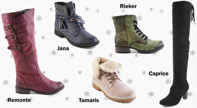 Zimní dámské kozačky a kotníkové boty na zimu značky Tamaris 021b4d1b0a