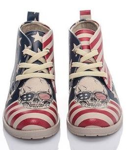 podzimní kotníčkové boty na šněrování 3191b301cfc
