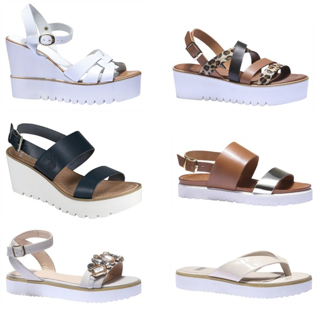 7971176a79cf Trendy letní sandály a pantofle - hity léta 2015 pro ženy i muže ...