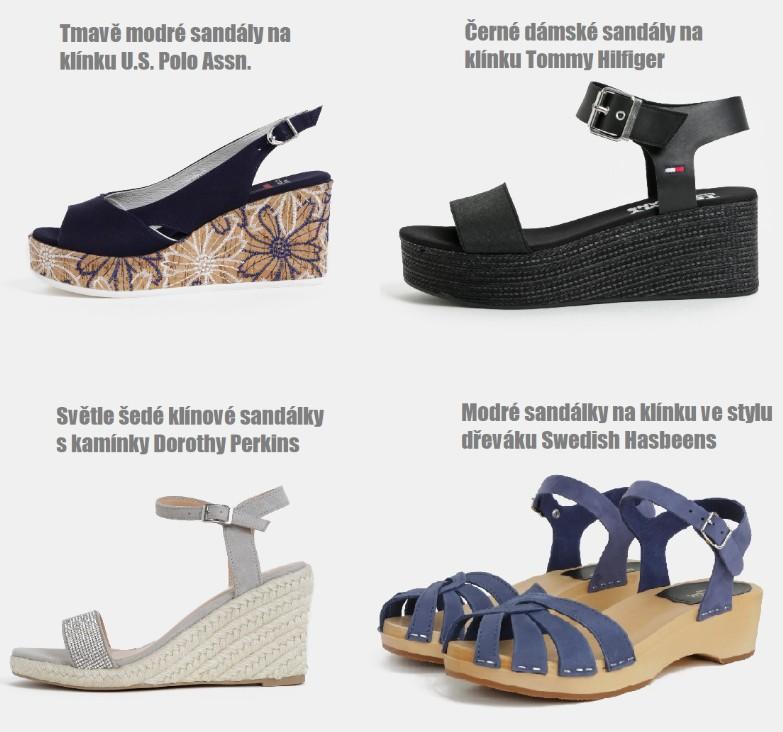 a42c7c27f8f7 Jaké dámské sandály jsou trendy  To nej z módní kolekce sandálů pro ...